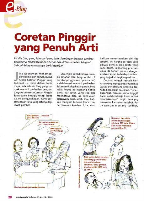 Majalah e-indonesia coretan pinggir hal 28