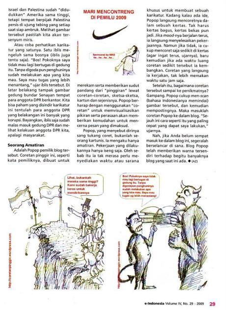 Majalah e-indonesia coretan pinggir hal 29