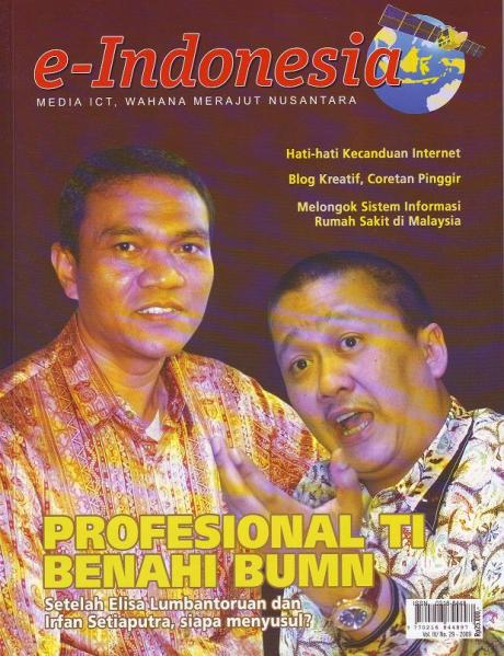 Majalah e-indonesia cover