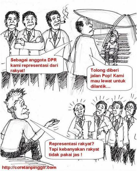 Karikatur Wakil rakyat
